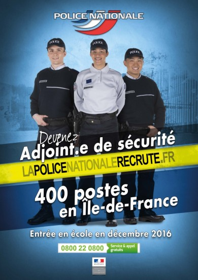 Adjoint de securite - afficheads-400postes