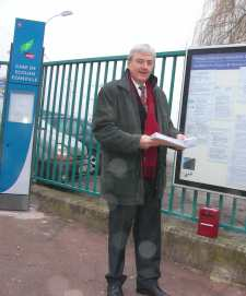 Jean-Pierre Gressier, le président de l'association Lutèce